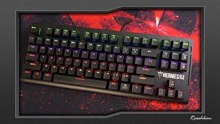 Gamdias Hermes E2 - Niedroga klawiatura mechaniczna z kolorowymi diodami