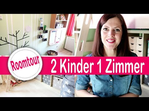 6 qm kleines kinderzimmer roomtour diy geschwister. Black Bedroom Furniture Sets. Home Design Ideas