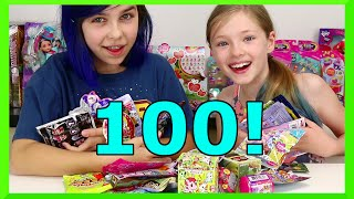BLIND BAG WEDNESDAY EP100 PT4 | MAL WEB | DISNEY, SHOPKINS, MONSTER HIGH