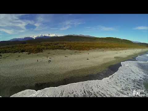 Amazing Dronie: Gillespies Beach, West Coast, New Zealand