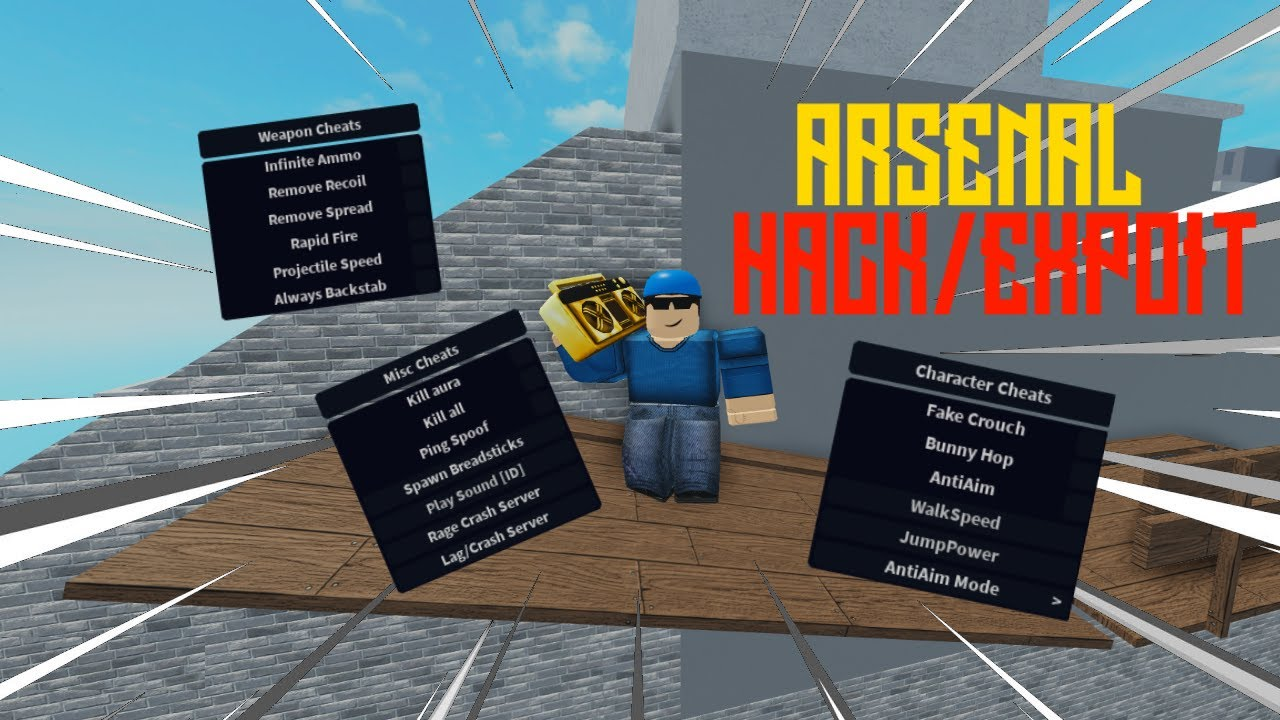 NEW OVERPOWERED ROBLOX ARSENAL GUI/SCRIPT WORKING HACK 2020