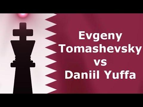 Evgeny Tomashevsky vs Daniil Yuffa - Qatar Masters Open 2015