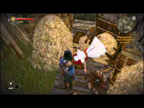 The Witcher 2: AOK - Assassin's Creed Easter Egg