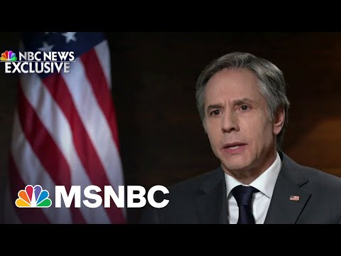 Blinken: U.S. Is Committed To 'Helping Ukraine Defend Itself' | MSNBC