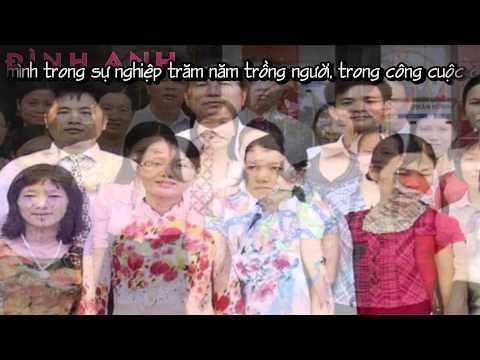 Mừng Ngày Nhà Giáo Việt Nam 20/11 - THPT Quỳnh Lưu 1