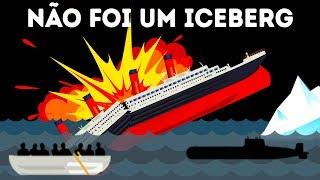 Sobrevivente do Titanic Afirma Que Não Foi um Iceberg que Destruiu o Navio