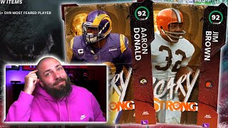 SCARY STRONG IS HERE AND WE FINISHED IT ALL! MOST FEARED IN MADDEN 21!