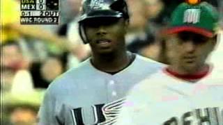2006 Mundial de Baseball   USA vs MÉXICO