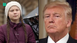 Trump Attacks Greta Thunberg After Time Person Of The Year Win