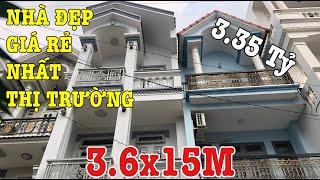 Bán Nhà Quận 12, Nhà Xây 3.5 Tấm Hẻm 7M Đường Hiệp Thành 02 P.Hiệp Thành Giá Quá Rẻ Chỉ 3.35 Tỷ