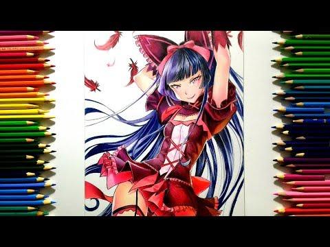 Drawing - Rory Mercury ( Gate: Jieitai Kanochi Nite, Kaku Tatakaeri ) [ ゲート 自衛隊 彼の地にて、斯く戦えり ]