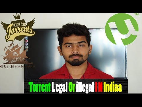 Is Torrent Legal Or Illegal In India??