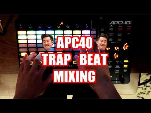 LIVE TRAP BEAT MIXING with AKAI APC40 MK2 feat. Music Box