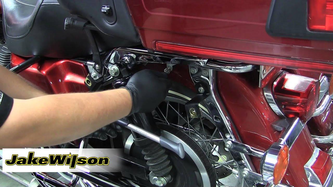 Touring Bike Air Suspension Adjustment using Tusk Suspension Pump