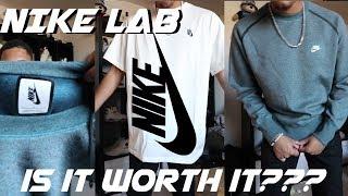 Nike Lab Tech Fleece Crewneck + Tee, Is It Worth It???