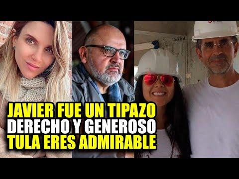 PERIODITAS Y AMIGOS DE JAVIER CARMONA SE DESPIDEN DE ÉL Y LE DAN LE PÉSAME A TULA RODRIGUEZ