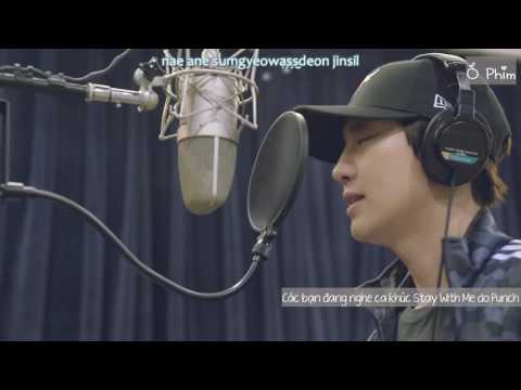 [Vietsub] Chanyeol, Punch (찬열, 펀치) - Stay With Me - Goblin OST (도깨비 OST Part 1)