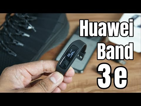 Huawei Band 3e Unboxing, Features, Setup | Huawei Health App | Foot Mode, Wrist Mode For Rs. 1699
