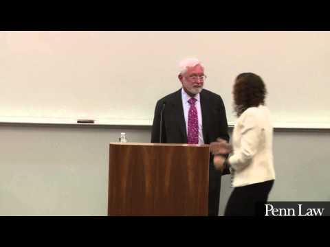 Hon. Jed S. Rakoff on financial crisis unnacountability at Penn Law's Distingushed Jurist Lecture