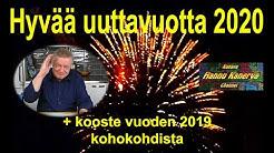 Hyvää uuttavuotta 2020