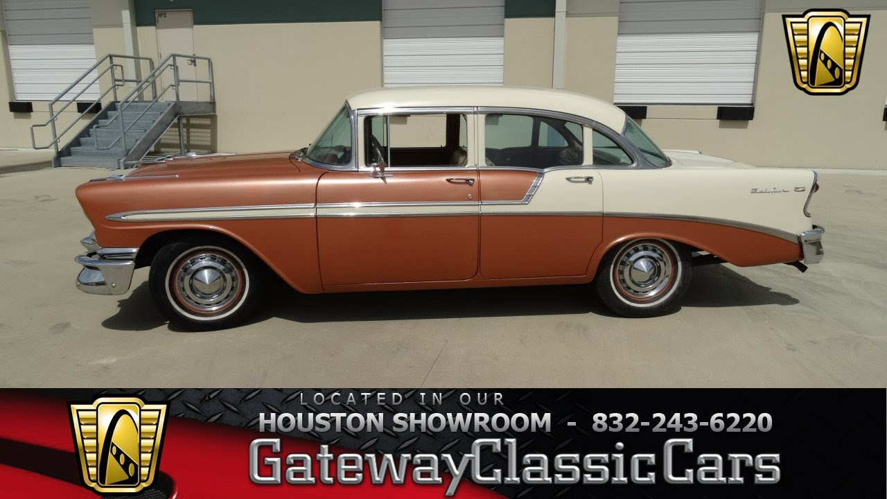 1956 chevrolet bel air images photo 56 chevy belair dv 06 - 1956 Chevrolet Bel Air Gateway Classic Cars Of Houston Stock 435 Hou