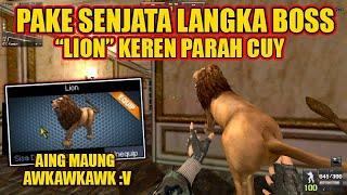 Download lagu SENJATA LION BATTLE ROYAL KEREN PARAH BOSS ?! - POINT BLANK INDONESIA