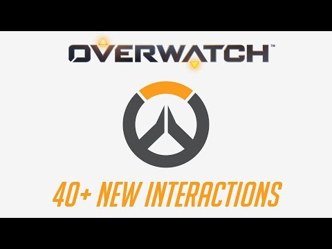 Overwatch - 40+ New Interactions