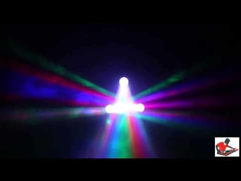 Lexlighting - Trilex - A RGB LED 3 Head Scan Effect DJs cool
