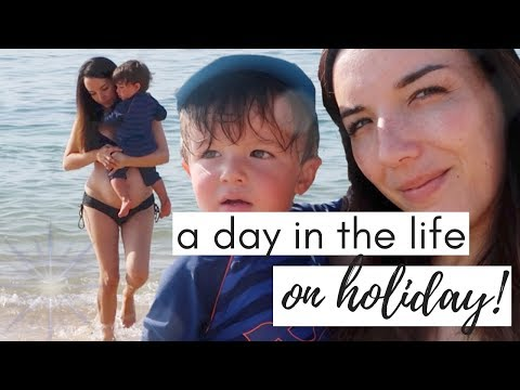 A DAY IN THE LIFE ON HOLIDAY  FAMILY HOLIDAY VLOG PORTUGAL