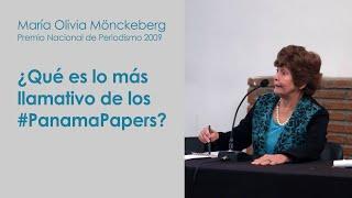 María Olivia Mönckeberg sobre los #PanamaPapers