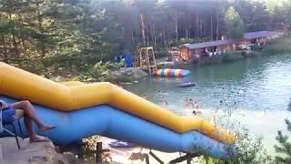 Красивые места для отдыха Голубые озера,  озеро 1