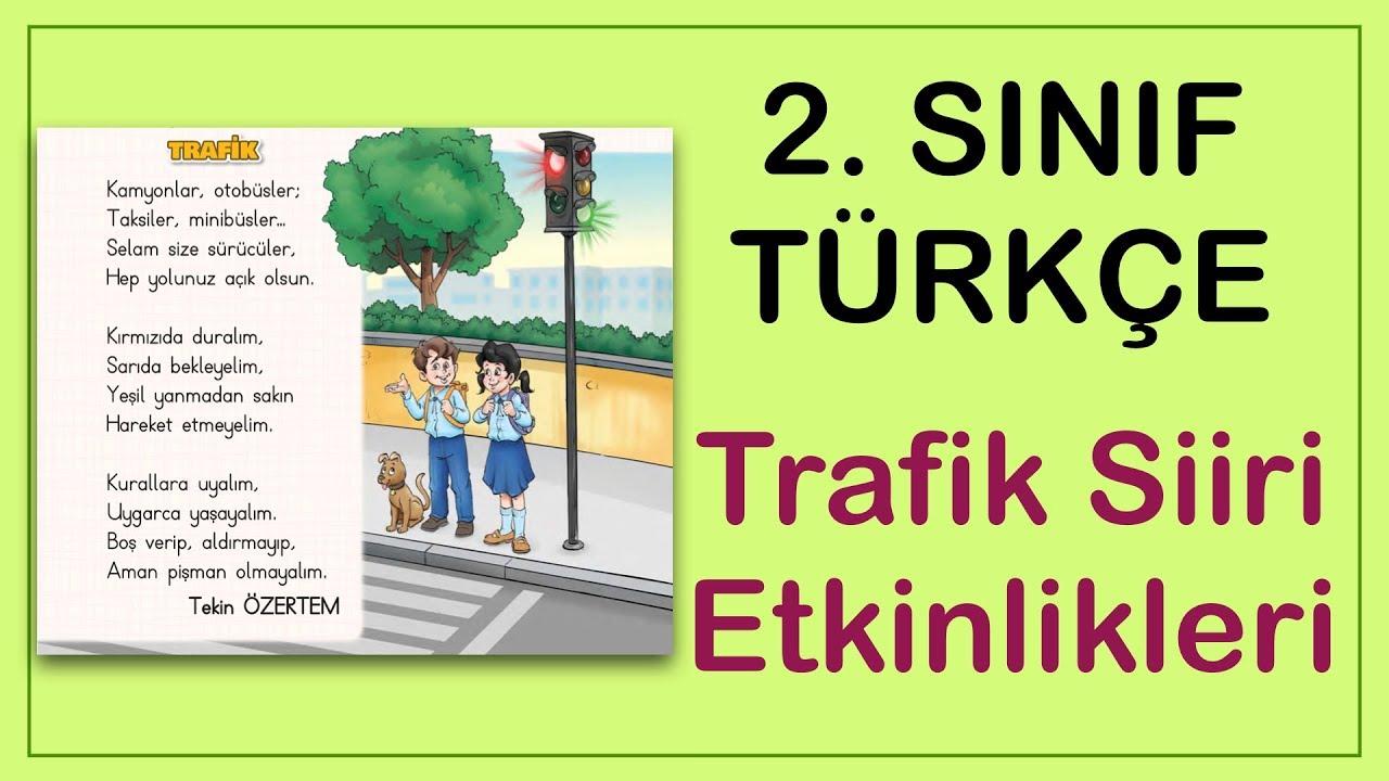 Uzaktan Eğitim İlkokul 2. Sınıf Türkçe Trafik