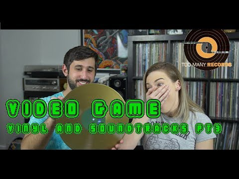 BEST Video Game Vinyl Records + Soundtracks (PART 3)