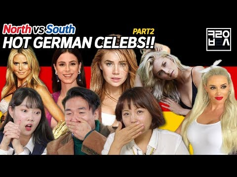 North Korean Defectors React to German Female Celebs! [Korean Bros]