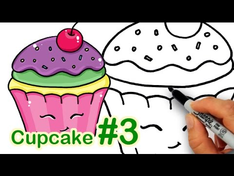 How To Draw A Rainbow Unicorn Cake  Youtube