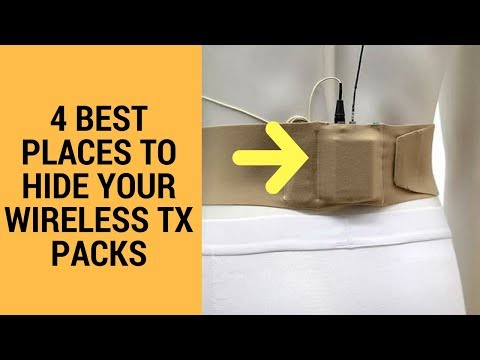 4 Ways To Hide Your Wireless Pack