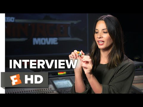 The Lego Ninjago Movie Interview - Olivia Munn (2017) | Movieclips Coming Soon