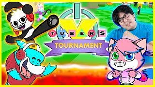 ROBLOX 1ST EVER TOURNAMENT COMPETITION ! Let es Play with VTubers Obby Vs. Floor is Lava