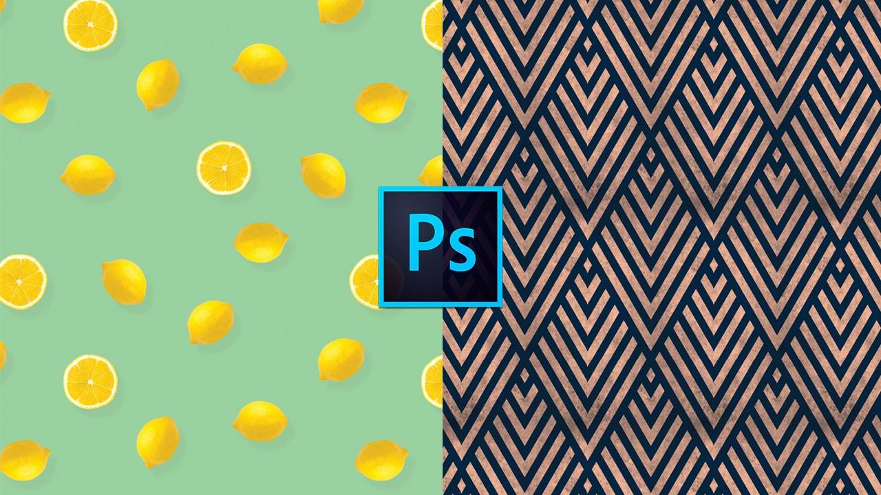Cómo diseñar un print, patrón o motivo en Photoshop // Marco ...