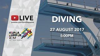 Download Video Aquatics Diving: Women's 1m Springboard Final | 29th SEA Games 2017 MP3 3GP MP4