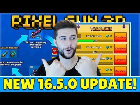 Pixel Gun 3D 16.5.0 UPDATE - FREE GEMS, COINS & WEAPONS, TEST YOUR GUNS & MORE!