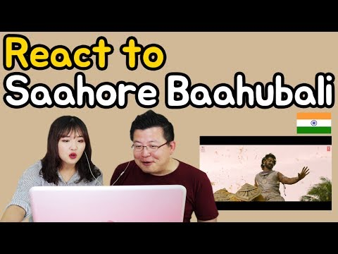 [Koreans React] Saahore Baahubali - Prabhas, Ramya Krishna [MV Reaction] / Hoontamin