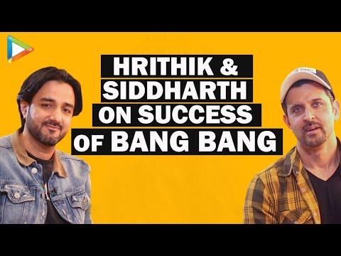 Hrithik Roshan Siddharth Anand exclusive on Bang Bang Success