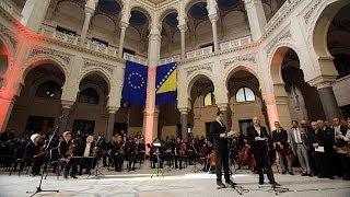 La Vijecnica, joyau de Sarajevo, rouvre ses portes