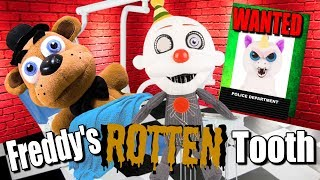 FNAF Plush – Freddy's Rotten Tooth (Featuring Feisty Pets)