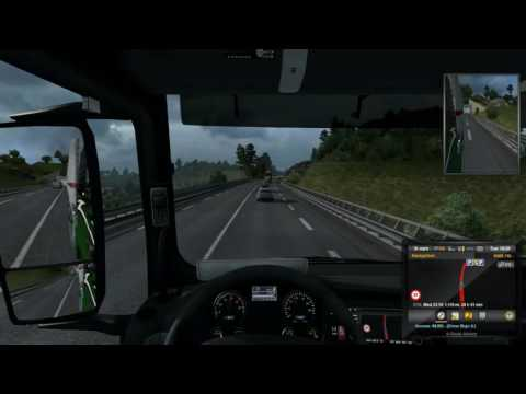 ETS2   Promods Map   Andorra to Brno Part 1
