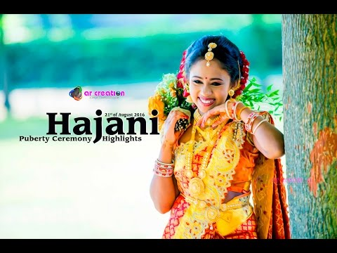 Hajani  | Puberty Ceremony |  Highlights  | arcreation