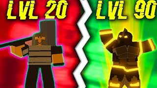 *NOOB* BECOMES A *PRO* (STARTING OVER) IN DUNGEON! #3 (ROBLOX DUNGEON QUEST)