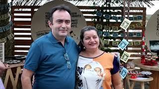 R C  Moraes fala da satisfação em comemorar seu aniversário com amigos e familiares