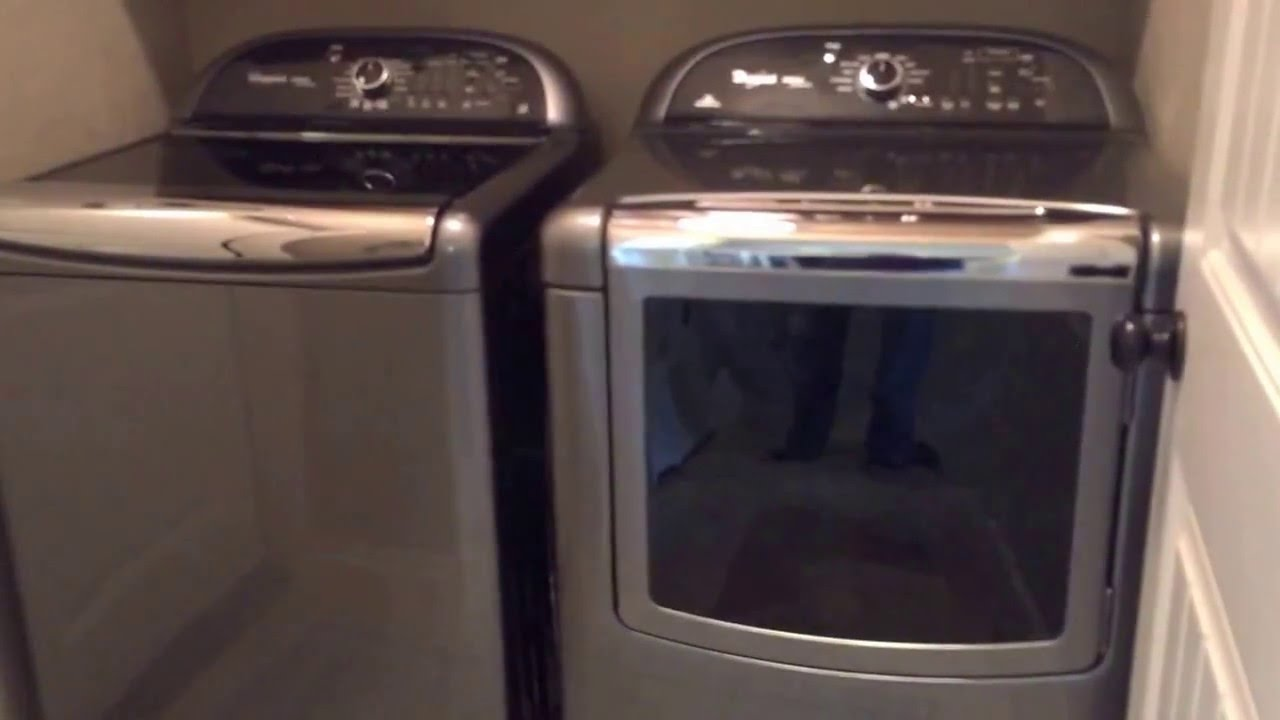 Whirlpool Cabrio Platinum Washer And Dryer Youtube With Electric Parts Diagram As Well